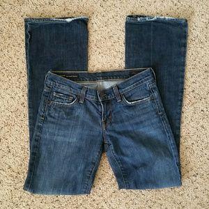 COH Kelly Low Waist Bootcut Distress Stretch Jean